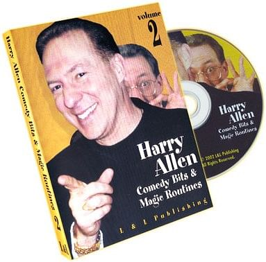 Harry Allen's Comedy Bits and Magic Routines Volume 2 - magic