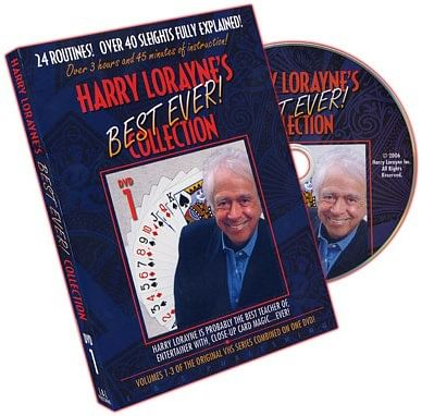Harry Lorayne's Best Ever Collection Volume 1 - magic
