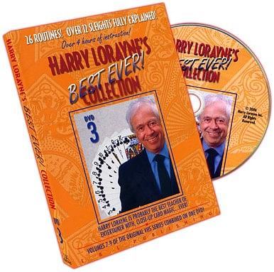 Harry Lorayne's Best Ever Collection Volume 3 - magic