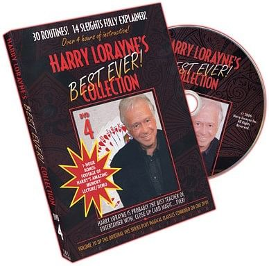 Harry Lorayne's Best Ever Collection Volume 4 - magic