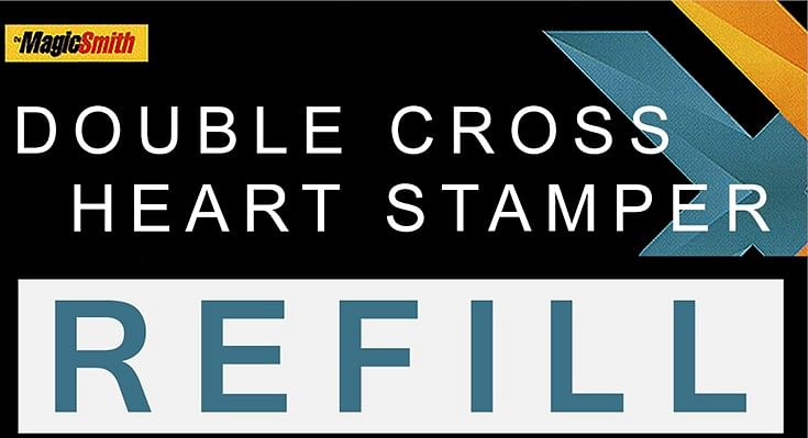 Heart Stamper Part for Double Cross - magic
