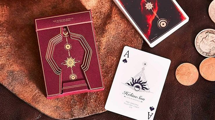 Helius Deluxe Edition Playing Cards - magic