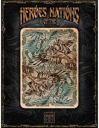 Heroes of the Nations Dark Playing Cards