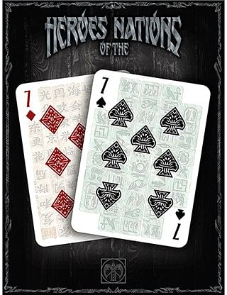 Heroes of the Nations Light Playing Cards