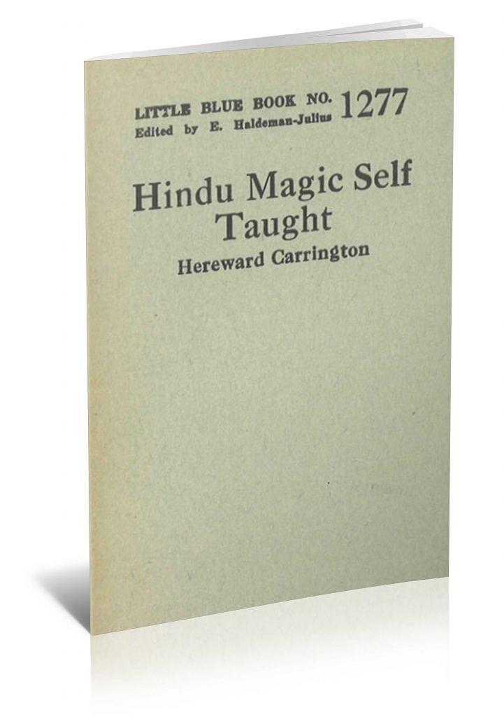 Hindu Magic Self Taught - magic