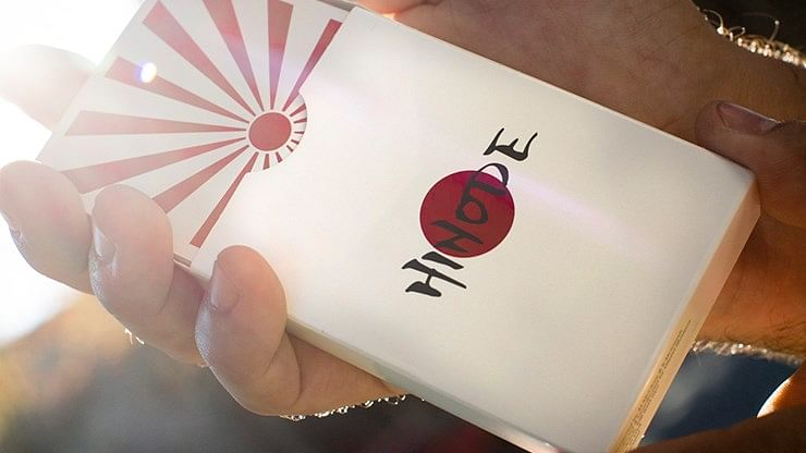 Hinode Playing Cards - magic