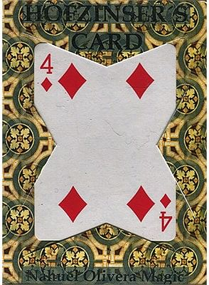 Hofzinser Card - magic