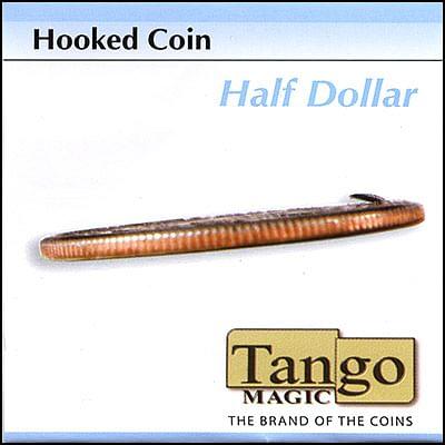 Hooked Coin - Half Dollar - magic