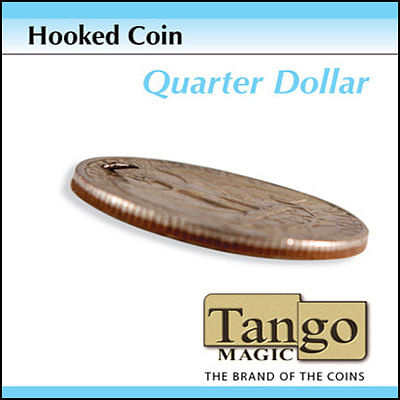 Hooked Coin - Quarter - magic