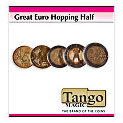 Hopping Half - 5 Euro Cents/20 Euro Cents - Premium - magic