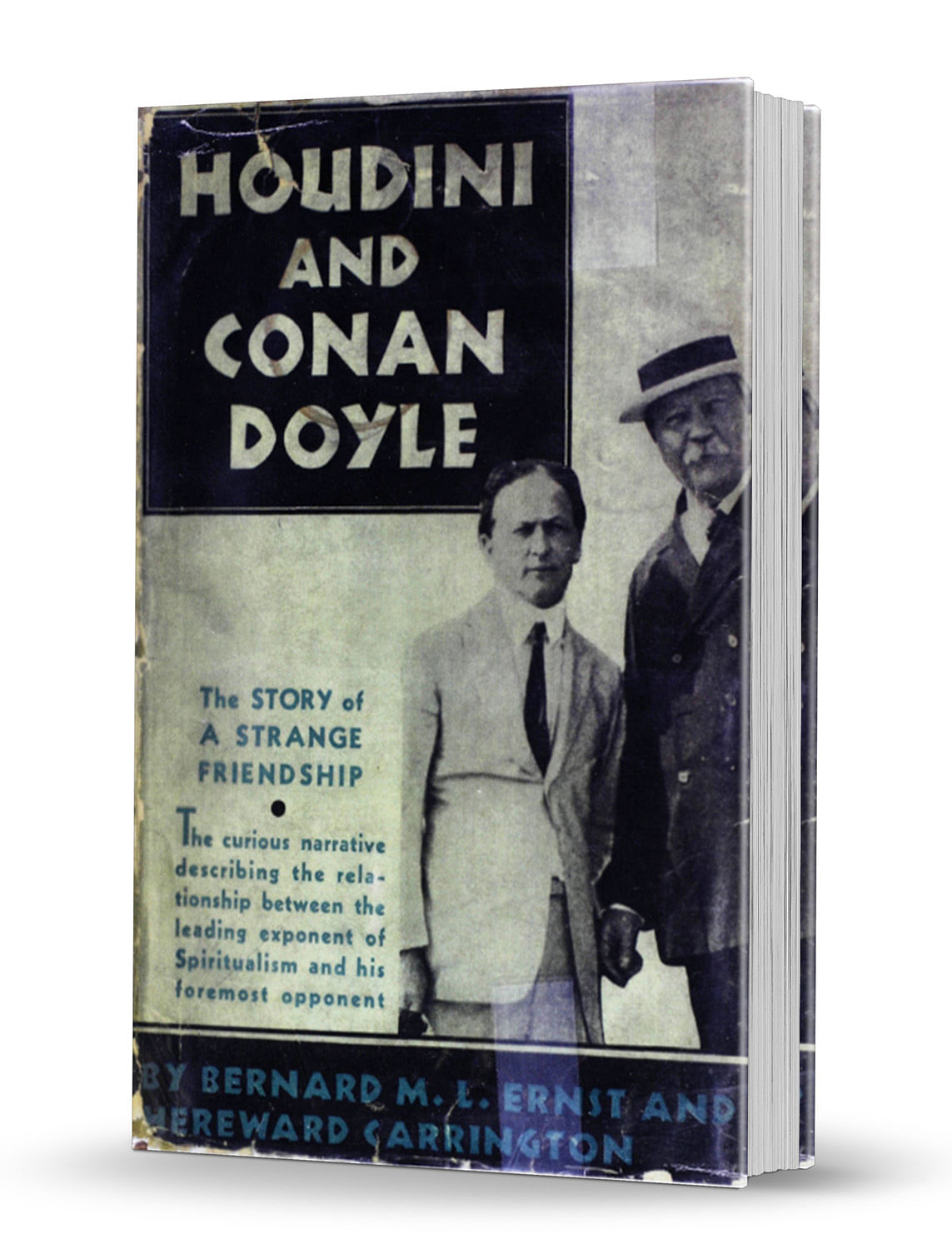 Houdini and Conan Doyle - magic
