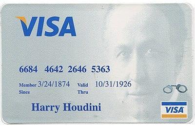Houdini Credit Card Style Lock Pick Took Kit - magic
