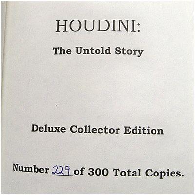 Houdini - The Untold Story