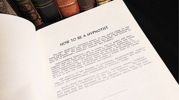 How to be a Hypnotist