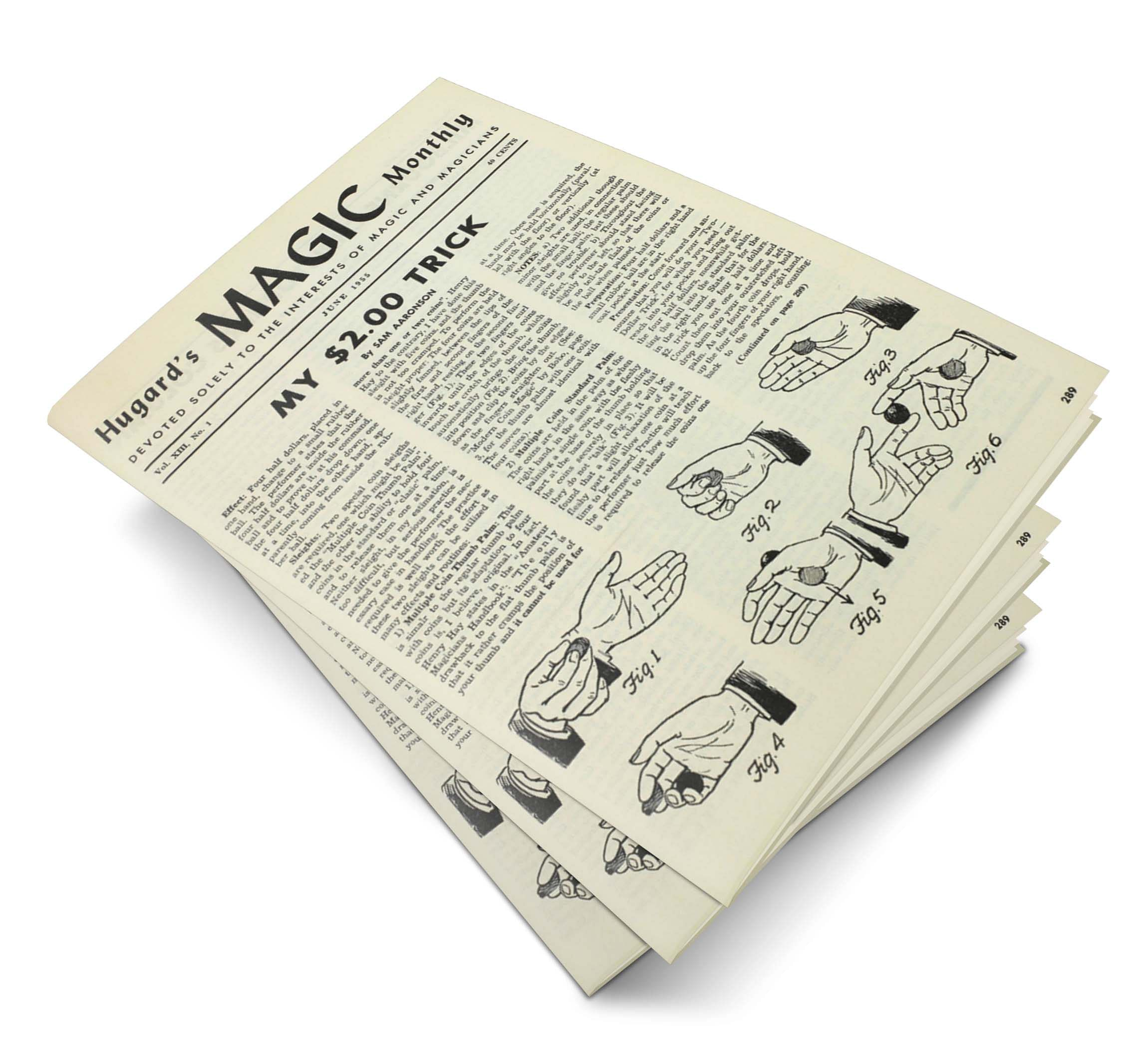 Hugard's Magic Monthly Volume 13 - magic