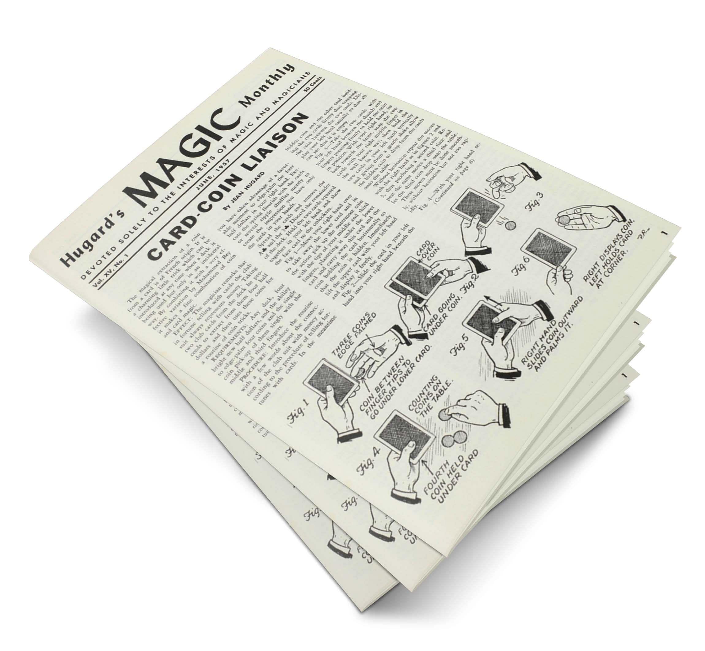 Hugard's Magic Monthly Volume 15 - magic