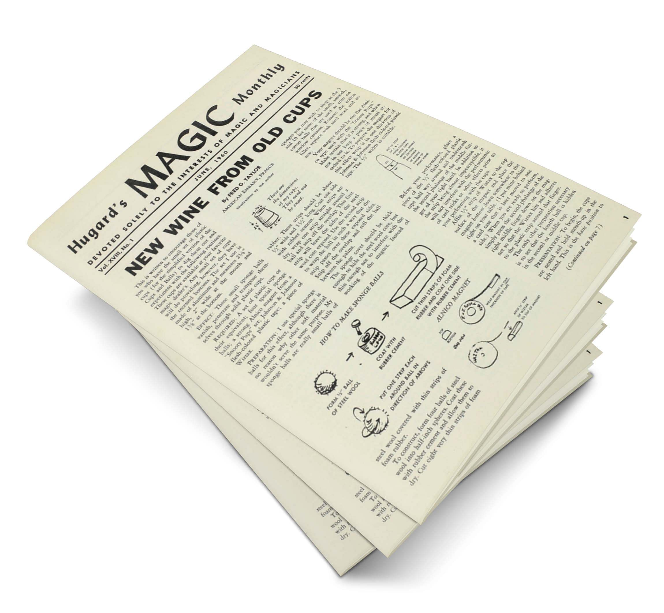 Hugard's Magic Monthly Volume 18 - magic