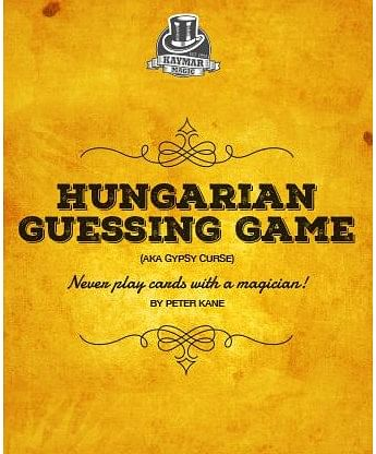 Hungarian Guessing Game AKA Gypsy Curse
