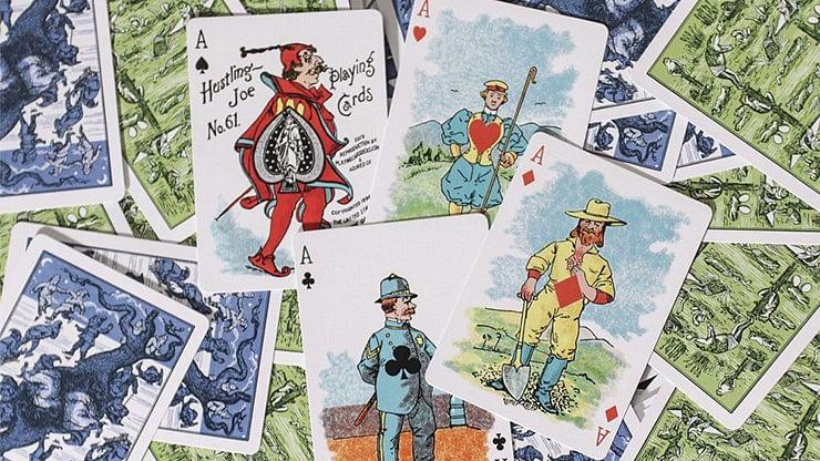 Hustling Joe Gilded Playing Cards