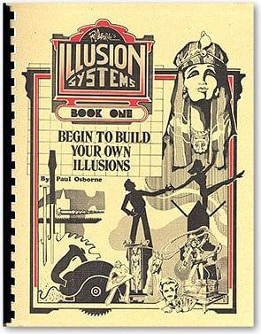 Illusion Systems #1 book Paul Osborne - magic
