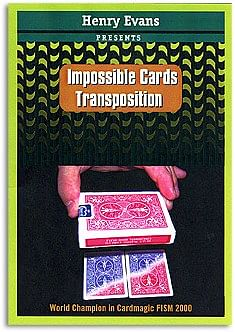 Impossible Card Transposition - magic
