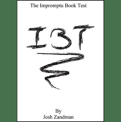 Impromptu Book Test (IBT) - magic