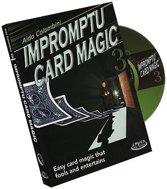 Impromptu Card Magic - Volume 3 - magic