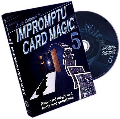 Impromptu Card Magic - Volume 5 - magic
