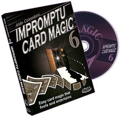 Impromptu Card Magic - Volume 6 - magic
