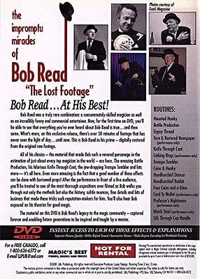 Impromptu Miracles of Bob Read