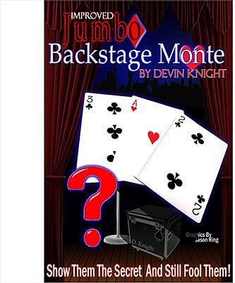 Improved Jumbo Backstage Monte - magic
