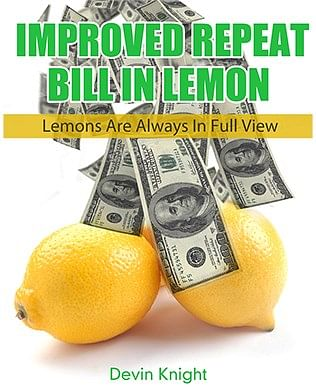 Improved Repeat Bill in Lemon - Version 2 - magic