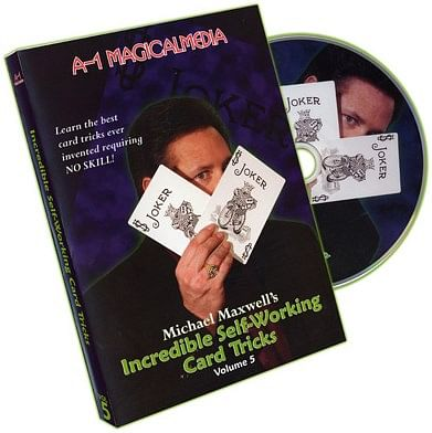 Incredible Self-Working Card Tricks - Volume 5 - magic