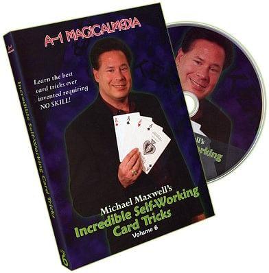 Incredible Self Working Card Tricks - Volume 6 - magic