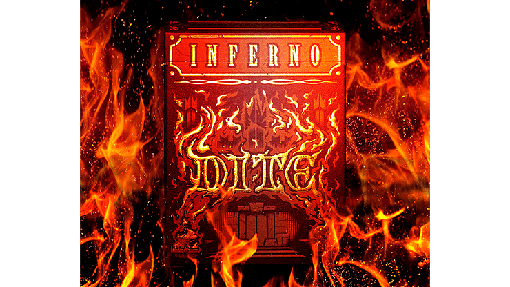 Inferno Dite Playing Cards - magic