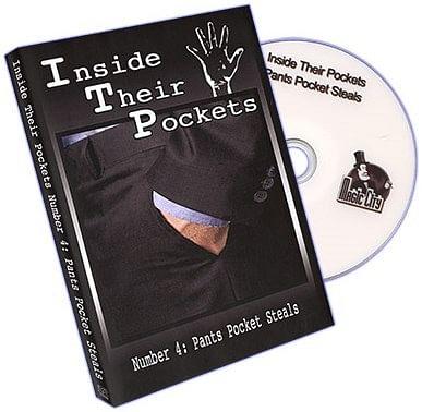 Inside Their Pockets Number Four: Pants Pocket Steals! - magic
