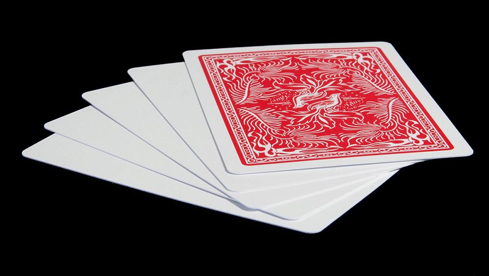 Insight Blank Face Cards - magic
