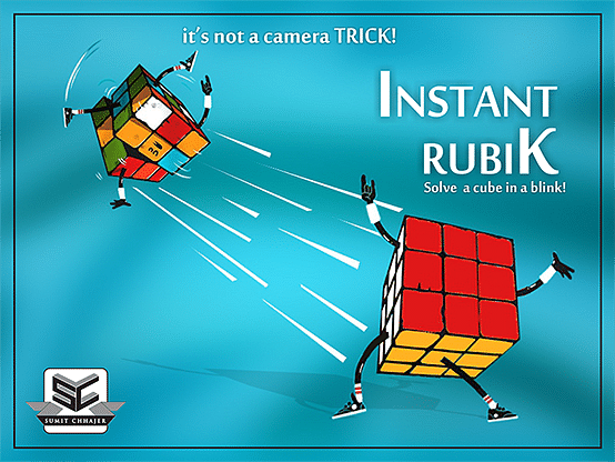 Instant Rubik - magic