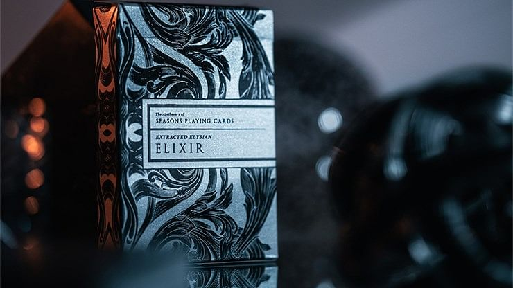 Intaglio Midnight Elixir Playing Cards - magic