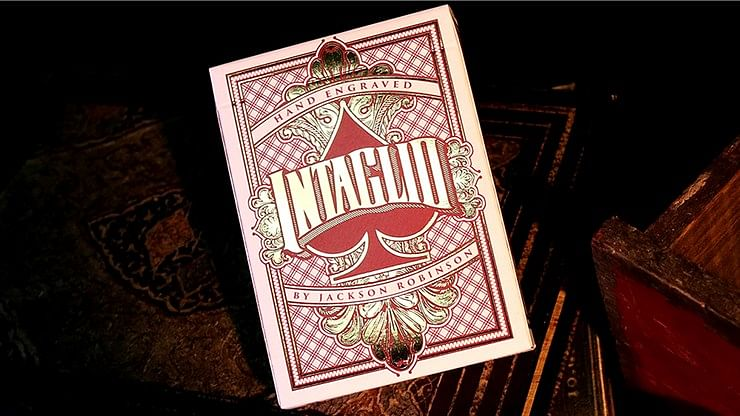 Intaglio Playing Cards - magic