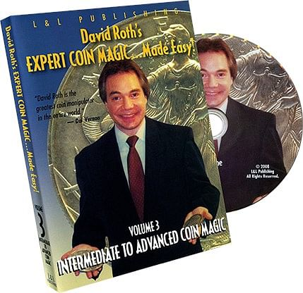 Intermediate-Advanced Coin Magic - Volume 3 (David Roth) - magic