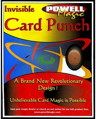 Invisible Card Punch - magic