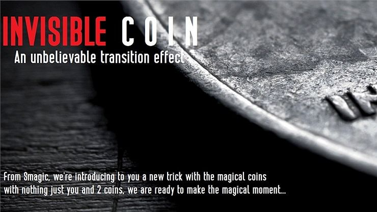 Invisible Coin - magic