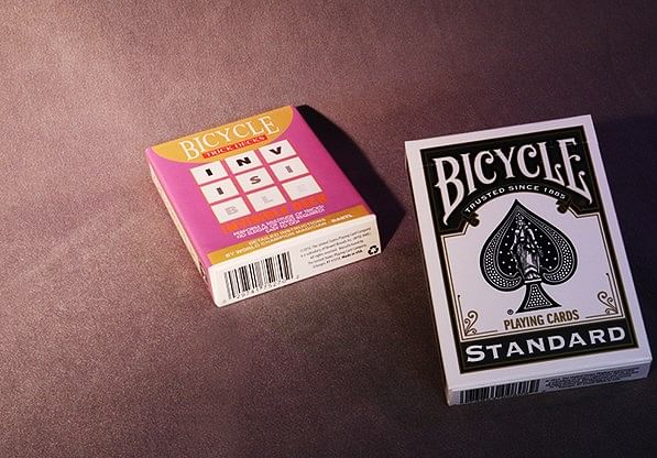 Invisible Deck Bicycle