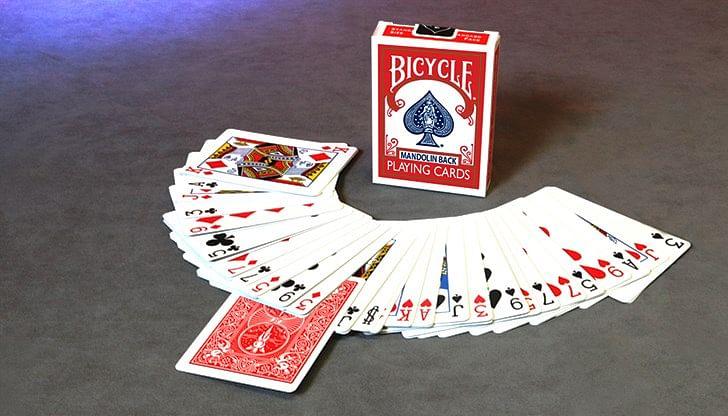 Invisible Deck (Bicycle Mandolin)