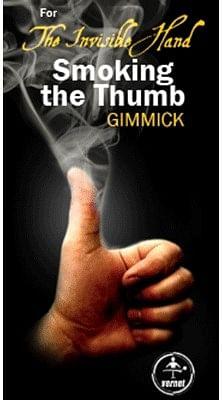 Invisible Hand Smoking Your Thumb - magic