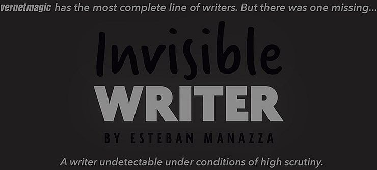 Invisible Writer - magic