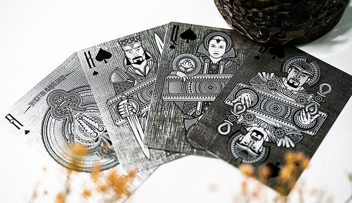 Invocation Platinum Playing Cards