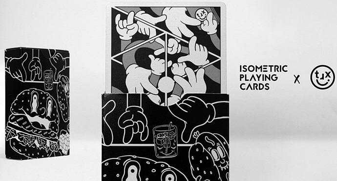 Isometric X Playing Cards - magic