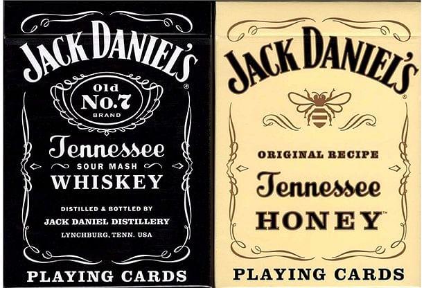 Jack Daniel's Black/Honey Set Playing Cards - magic